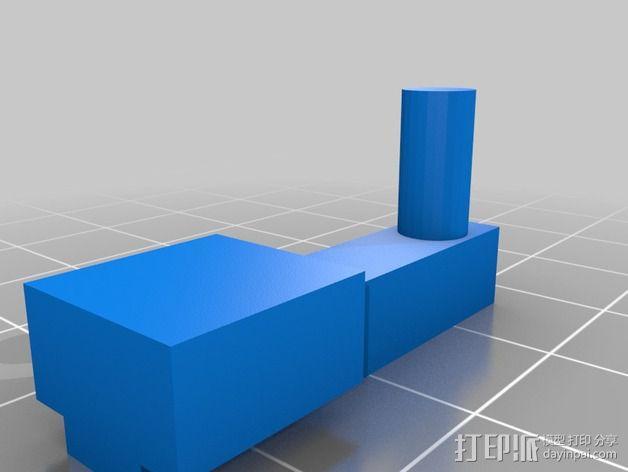树莓派相机 模块化支撑臂 3D模型  图3
