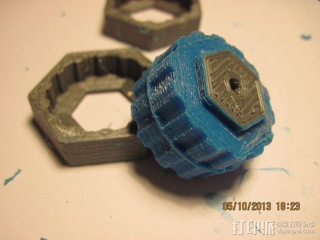 迷你机器人轮胎 3D模型  图7
