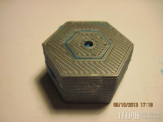 迷你机器人轮胎 3D模型  图6