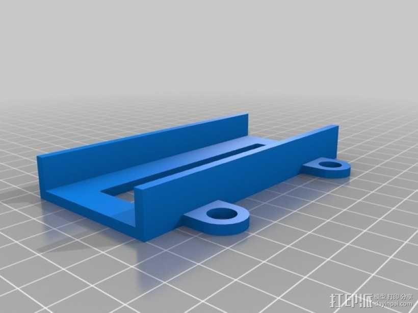 """""""蚱蜢号""""迷你四轴飞行器 3D模型  图2"""