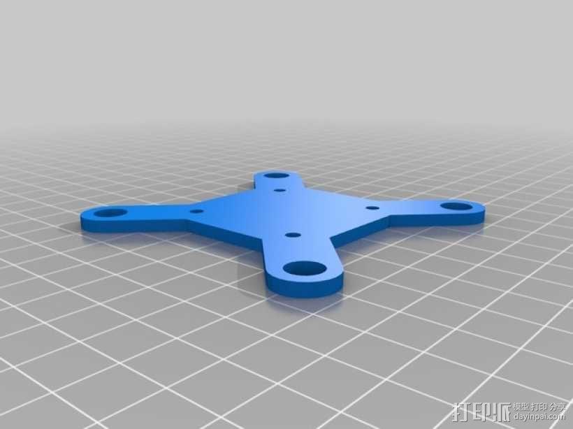 """""""蚱蜢号""""迷你四轴飞行器 3D模型  图3"""