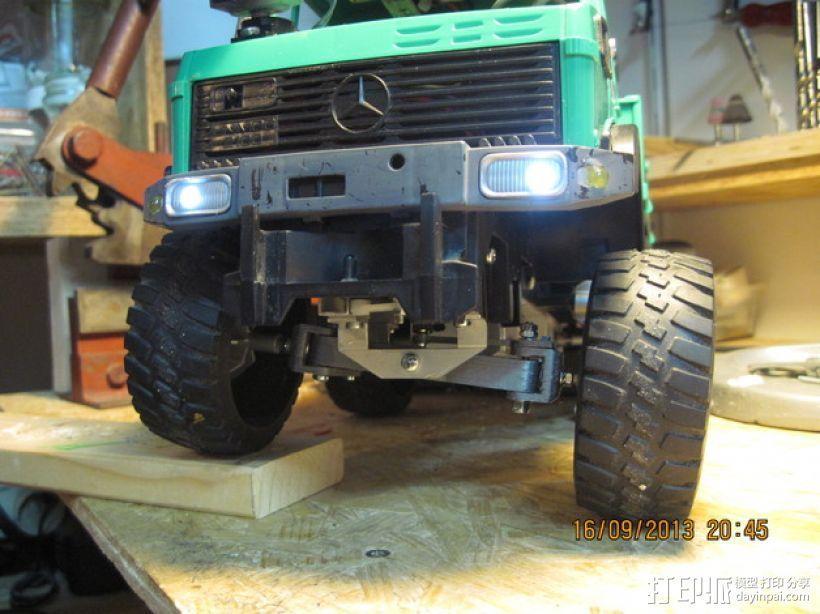 1:16模块卡车前轴 3D模型  图5