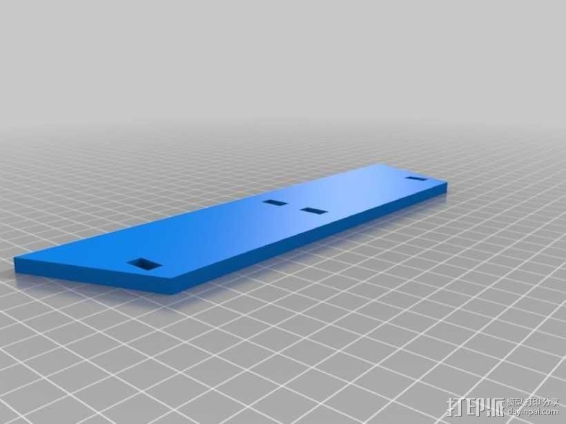 特斯拉电动汽车托架 3D模型  图5