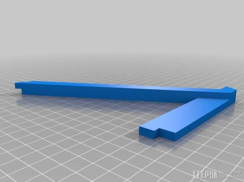 特斯拉电动汽车托架 3D模型  图7