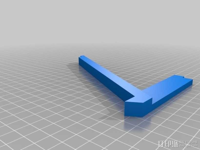 特斯拉电动汽车托架 3D模型  图6