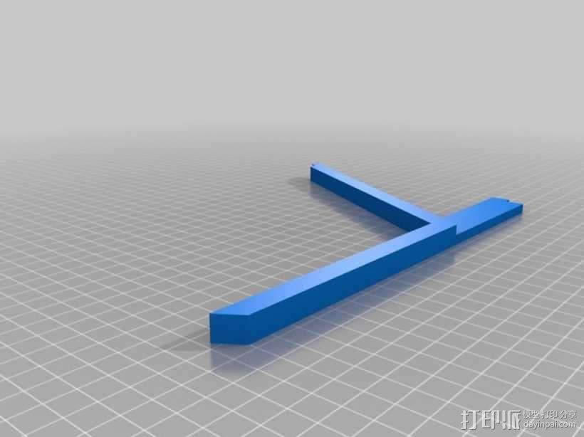 特斯拉电动汽车托架 3D模型  图8