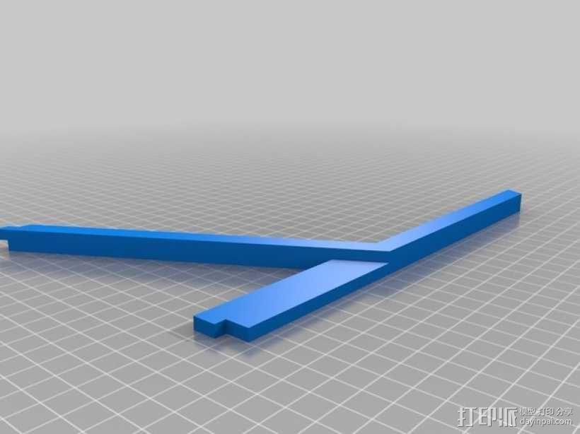 特斯拉电动汽车托架 3D模型  图9