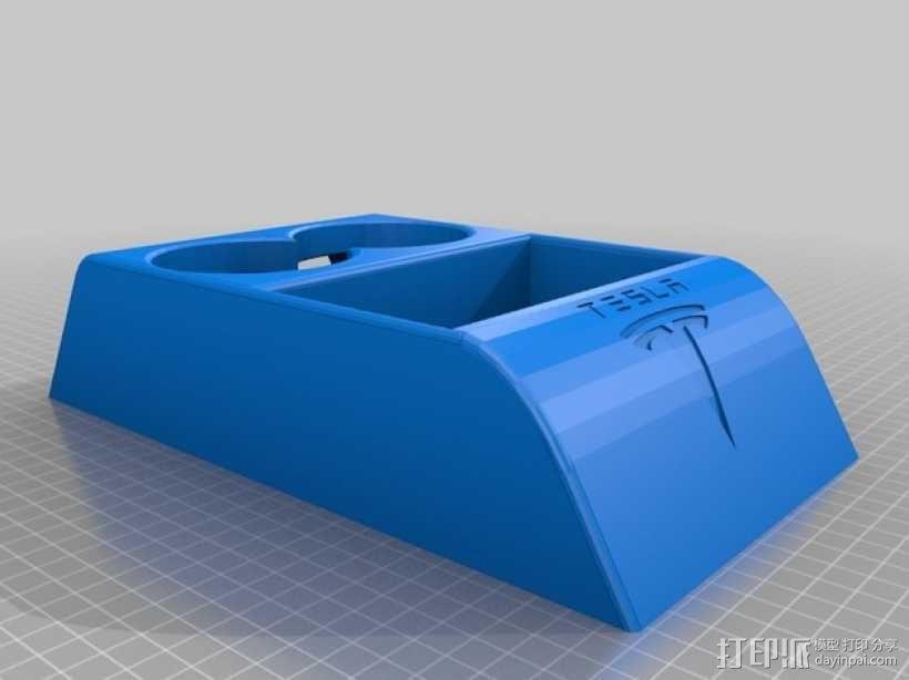 特斯拉电动汽车托架 3D模型  图11