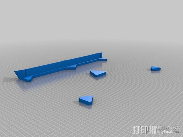 定制化乐谱架 3D模型  图2