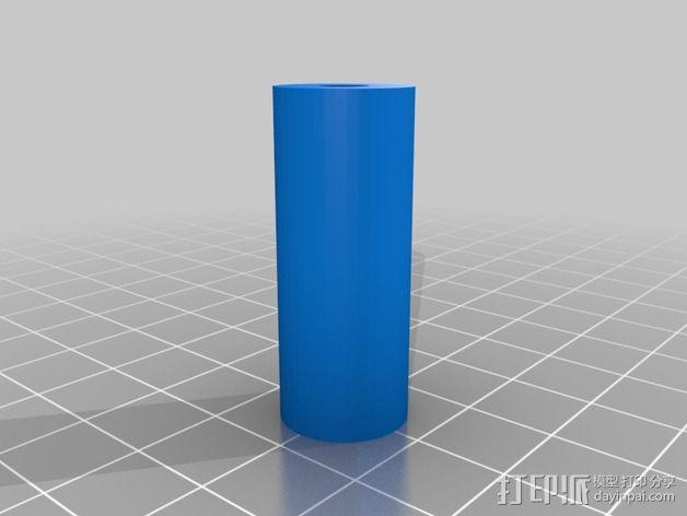 可折叠起落架 3D模型  图2