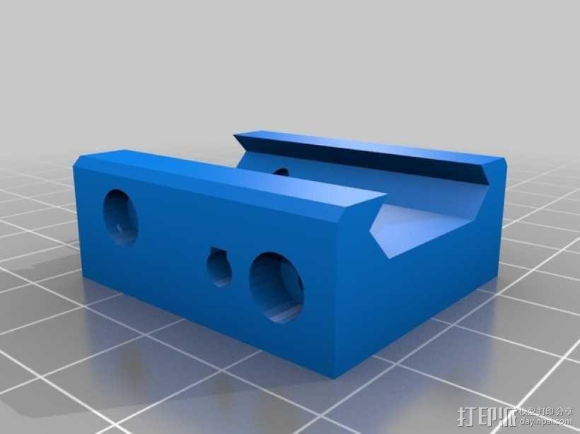 皮卡汀尼导轨支架 3D模型  图8