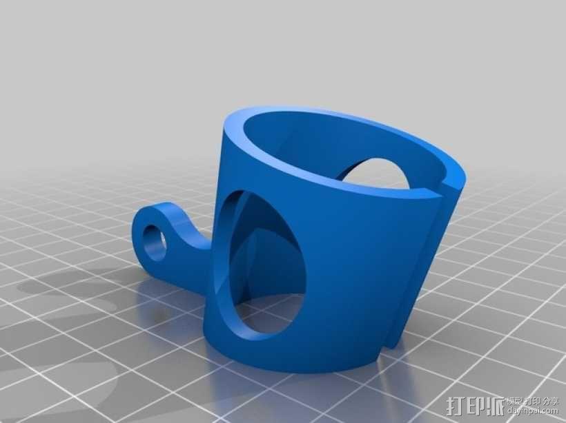 话筒 支架 3D模型  图2