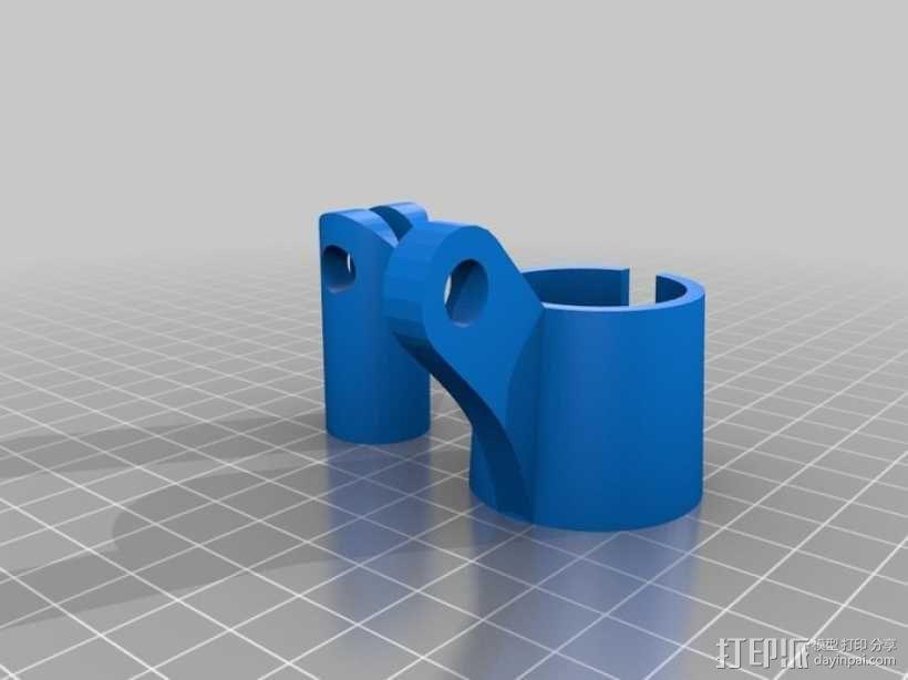 话筒 支架 3D模型  图4