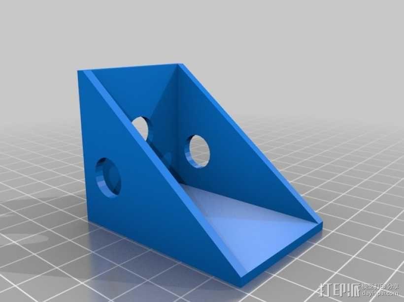 遥控飞机防护装置 3D模型  图2