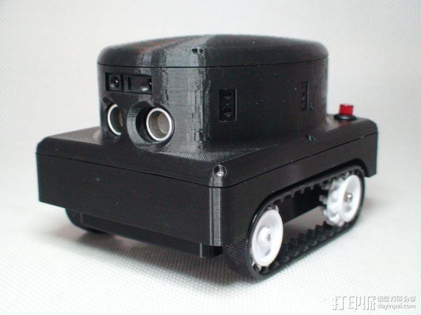 Meshbot 2履带式机器人 3D模型  图1