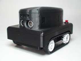 Meshbot 2履带式机器人 3D模型