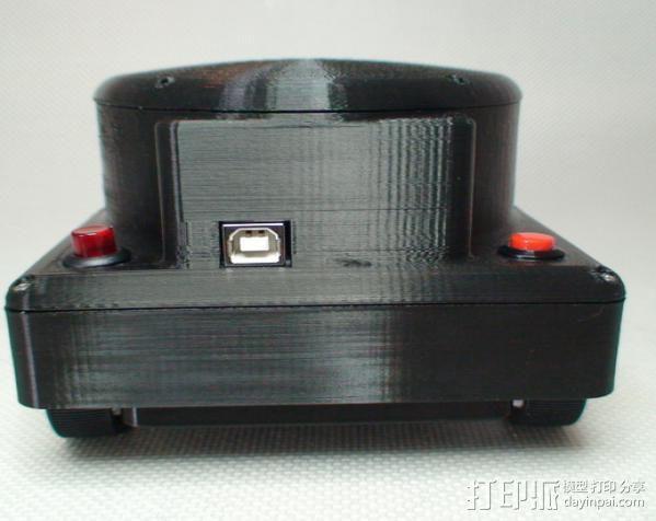 Meshbot 2履带式机器人 3D模型  图5