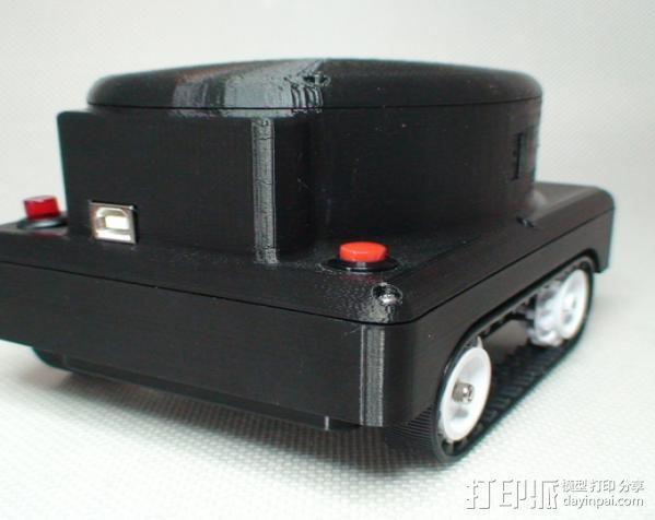 Meshbot 2履带式机器人 3D模型  图6