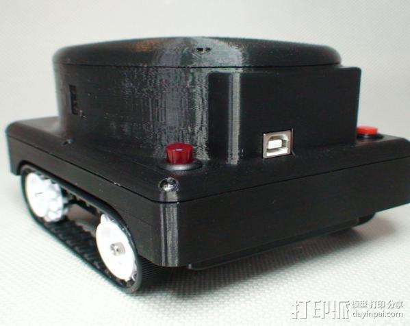 Meshbot 2履带式机器人 3D模型  图4