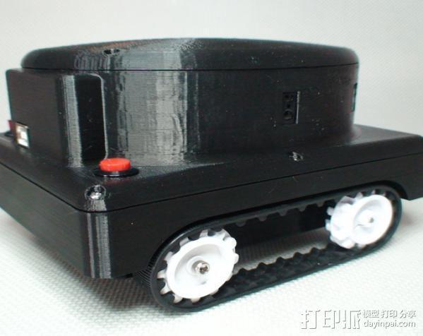 Meshbot 2履带式机器人 3D模型  图7