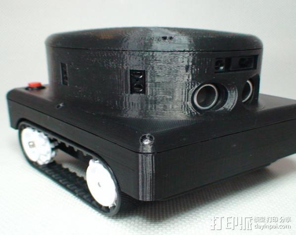 Meshbot 2履带式机器人 3D模型  图9