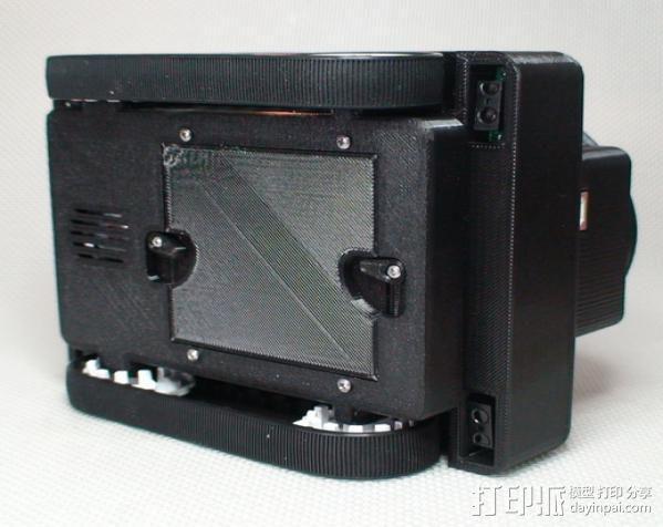 Meshbot 2履带式机器人 3D模型  图12