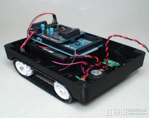 Meshbot 2履带式机器人 3D模型  图15