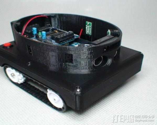 Meshbot 2履带式机器人 3D模型  图14