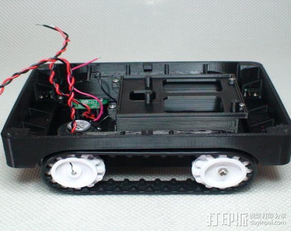 Meshbot 2履带式机器人 3D模型  图21