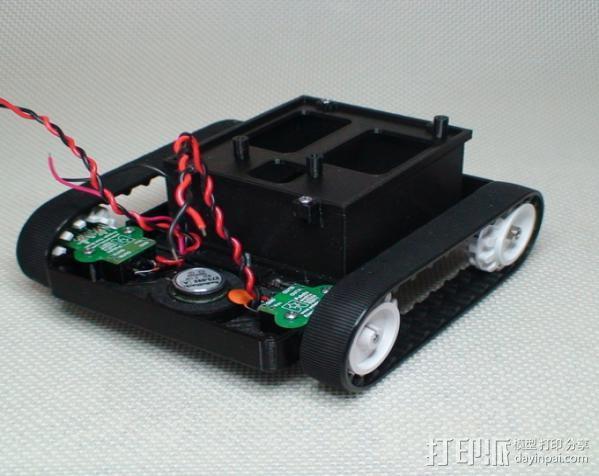Meshbot 2履带式机器人 3D模型  图23