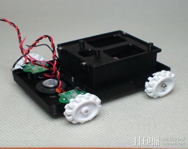 Meshbot 2履带式机器人 3D模型  图24