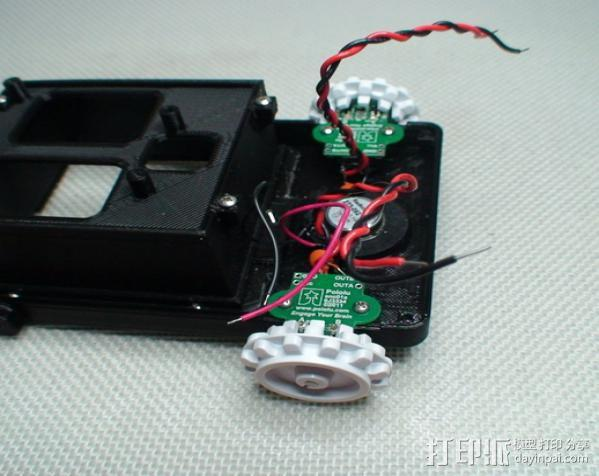 Meshbot 2履带式机器人 3D模型  图25