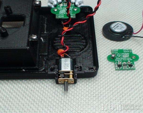 Meshbot 2履带式机器人 3D模型  图27