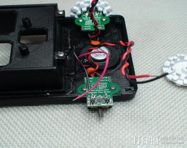 Meshbot 2履带式机器人 3D模型  图26