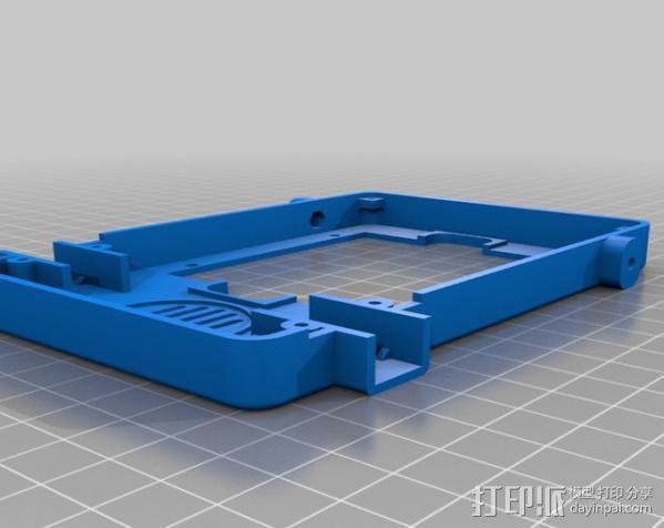 Meshbot 2履带式机器人 3D模型  图35