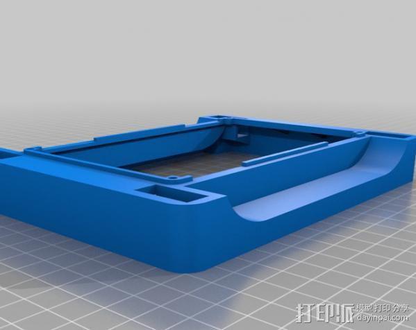 Meshbot 2履带式机器人 3D模型  图37