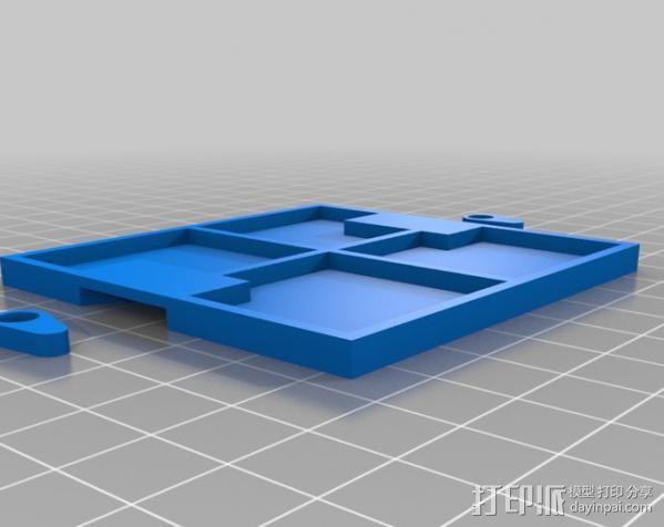 Meshbot 2履带式机器人 3D模型  图38