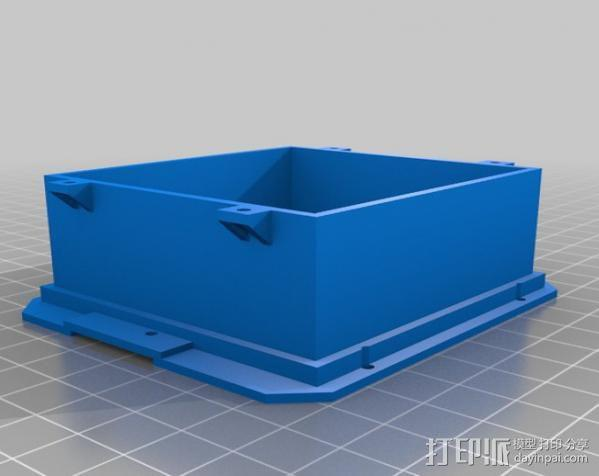 Meshbot 2履带式机器人 3D模型  图36