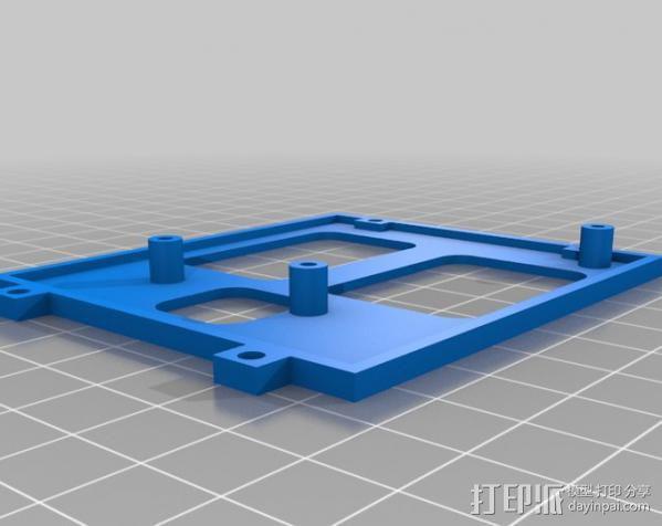 Meshbot 2履带式机器人 3D模型  图40