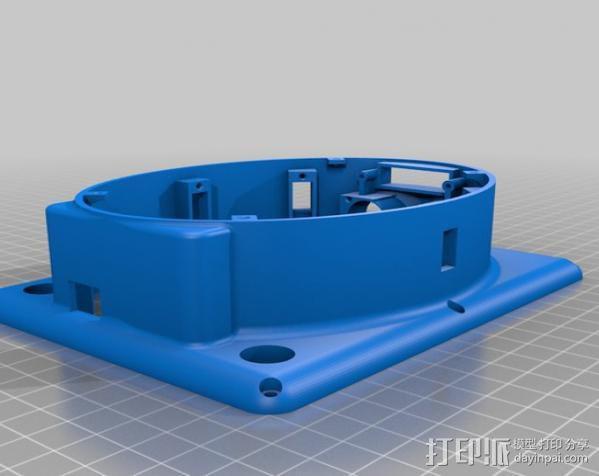Meshbot 2履带式机器人 3D模型  图39