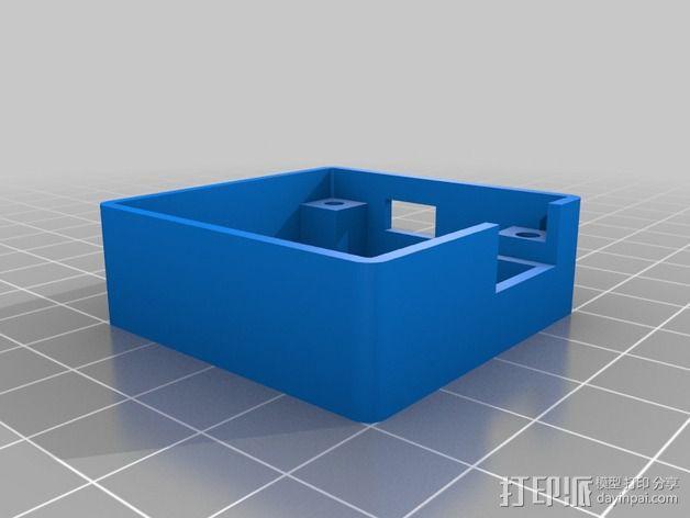 Naze32控制器板 外壳 3D模型  图2