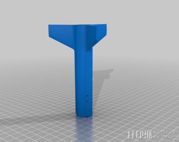 迷你火箭 3D模型  图3
