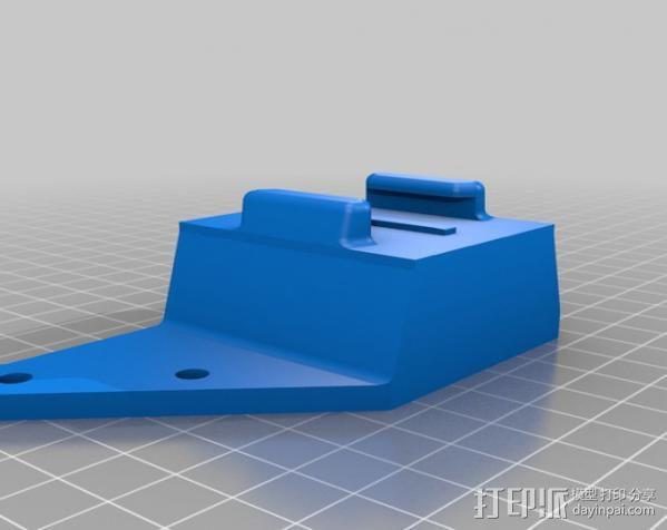 GoPro相机支架 3D模型  图4