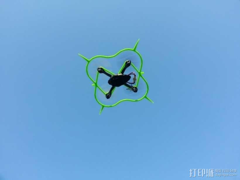Hubsan四轴飞行器 保护架 3D模型  图4