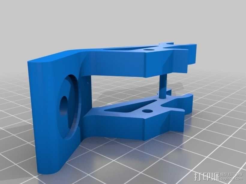 FUTABA T8J显示器支架 3D模型  图2