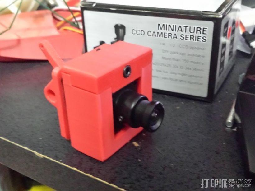 RMRC CCD相机支架 3D模型  图1