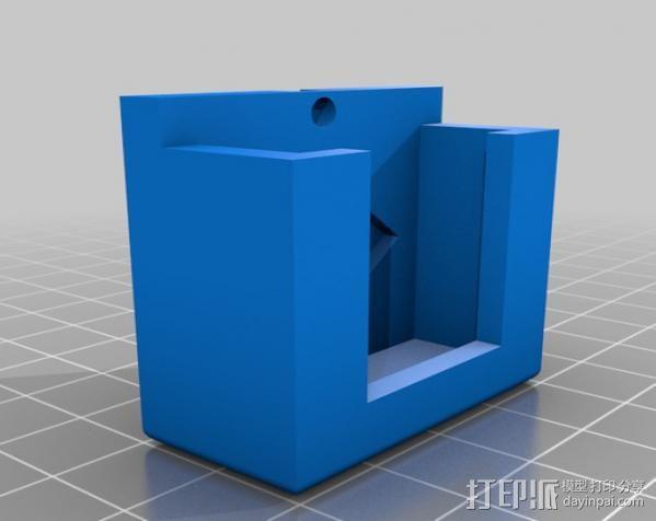 RMRC CCD相机支架 3D模型  图4