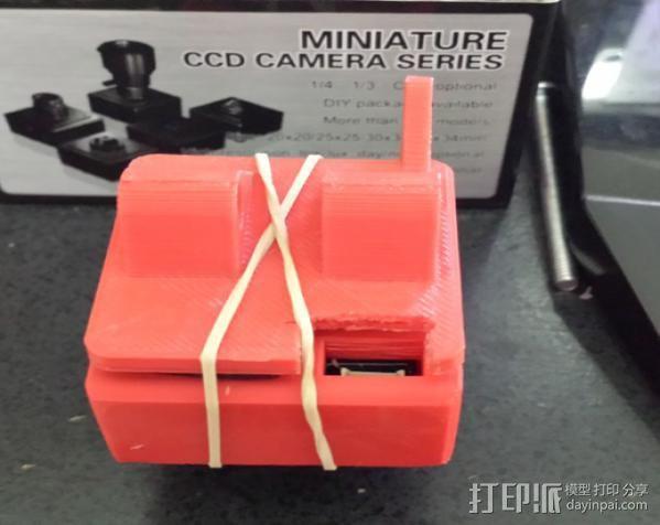 RMRC CCD相机支架 3D模型  图3