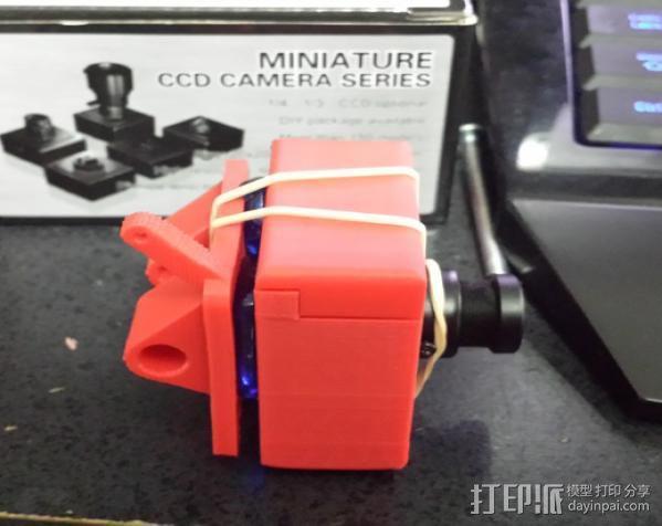 RMRC CCD相机支架 3D模型  图2