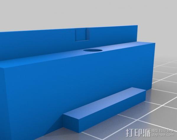 RMRC CCD相机支架 3D模型  图5
